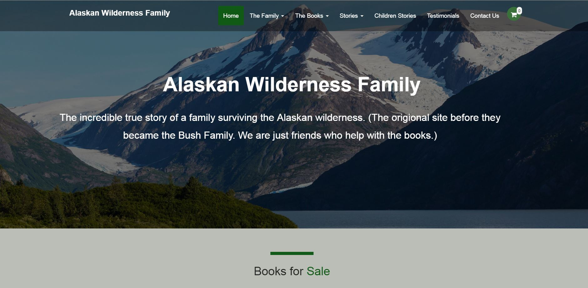 Alaska Wilderness Family