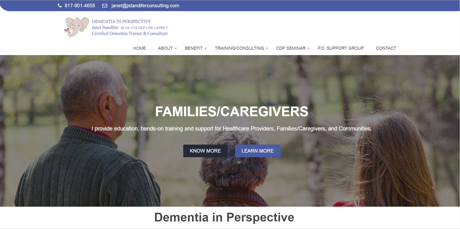 Dementia in Perspective