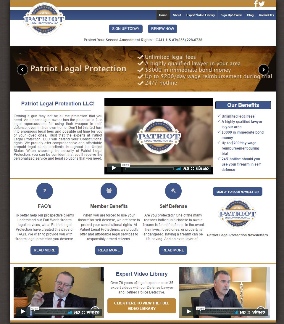 Patriot Legal Protection