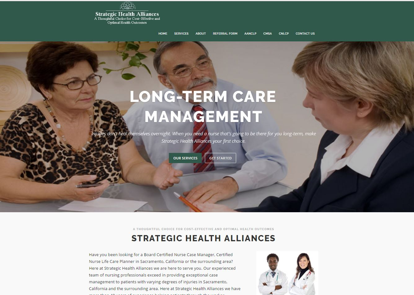 Strategic Health Alliances